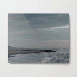 Asbury Park Beach Sunset Metal Print