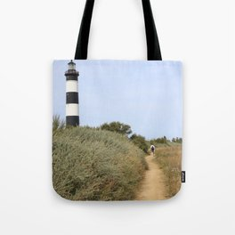 licorice lighthouse Tote Bag