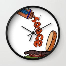 Dubstep Sauce Wall Clock