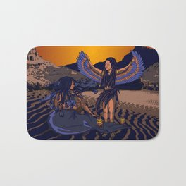 Medusa of Music meets Lilith Bath Mat
