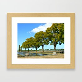 Hawke's Bay Winery (New Zealand Collection) Framed Art Print