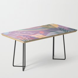 Summer Pastels Coffee Table
