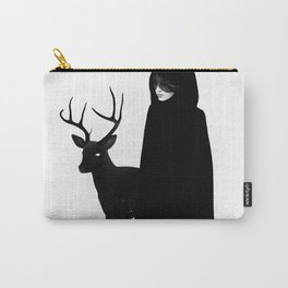 Absentia in white Carry-All Pouch