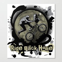 Ride Back Home Canvas Print
