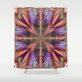 Word Shower Curtain