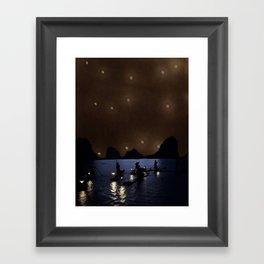 Night Drift Framed Art Print