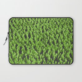 Like Blades of Grass / Large crowd of people illustration Laptop Sleeve