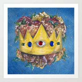 Mother of Crowns Art Print