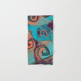 Square circles Hand & Bath Towel