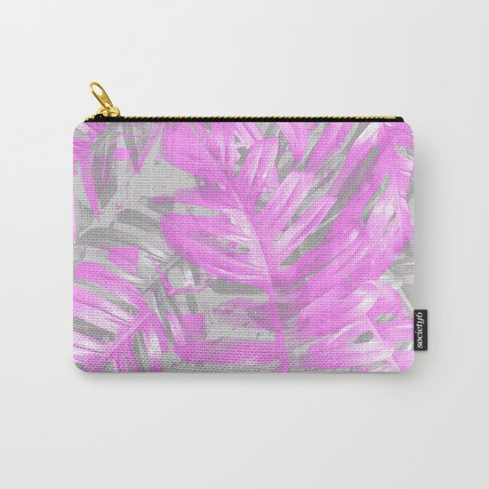 silver and musk, foliage Carry-All Pouch