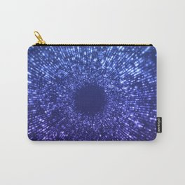 Sci Fi Abstract Outer Space Universe  Mystic Blue Carry-All Pouch