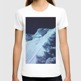 NATURE'S WONDER #2 - Glacier in the dark #art #society6 T-shirt