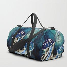 Metallic Jellyfish III Duffle Bag