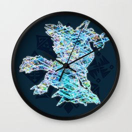Zinogre Wall Clock