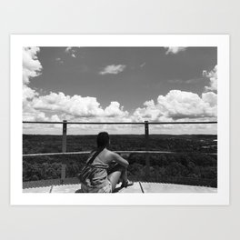views Art Print