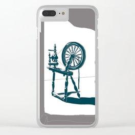Rumplestiltskin - brother Grimm illustration Clear iPhone Case
