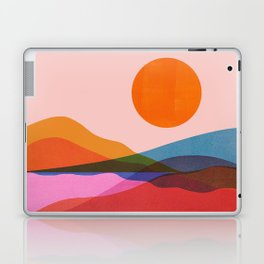 Abstraction_OCEAN_Beach_Minimalism_001 Laptop & iPad Skin