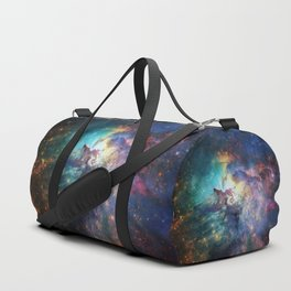 Lagoon Nebula / Second Version Duffle Bag