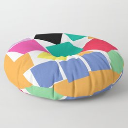 Square Elephant Floor Pillow