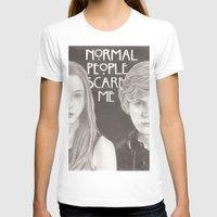 kris tate T-shirts featuring Violet & Tate by JadeJonesArt