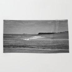 Next stop Antarctica Beach Towel