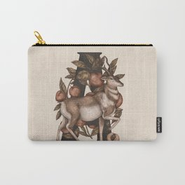 Letter A: Antelope & Apricots Carry-All Pouch
