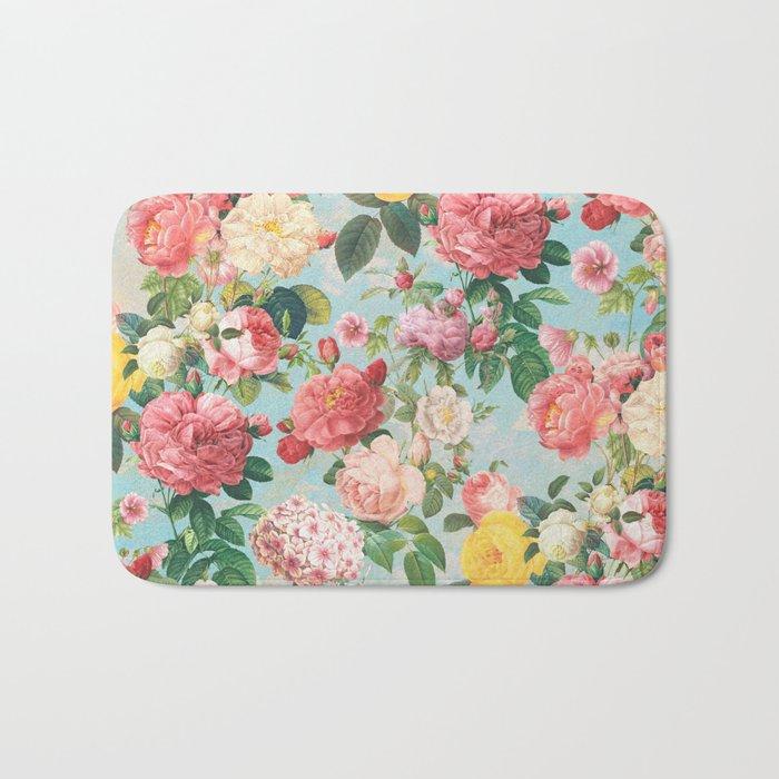 Floral B Bath Mat