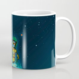Giant Cats from Outer Space! Coffee Mug