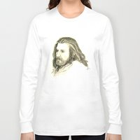 thorin Long Sleeve T-shirts featuring Thorin Oakenshield by Zalazny