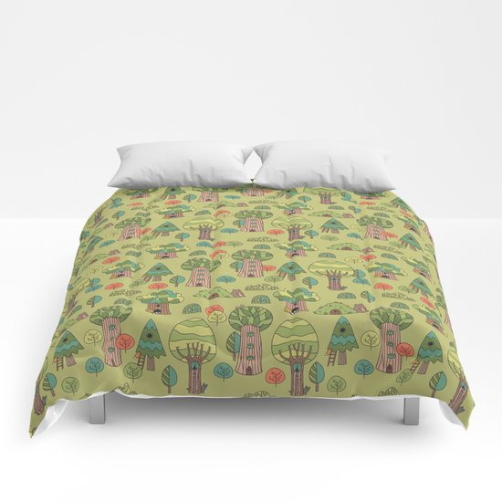 Forest neighbors Comforters