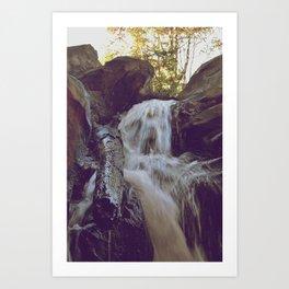 Chasing Waterfalls II Art Print