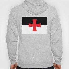 Knights Templar Flag - High Quality Hoody