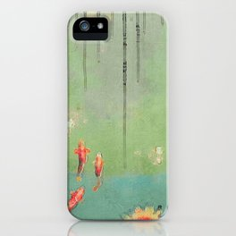 Koi Dreams iPhone Case