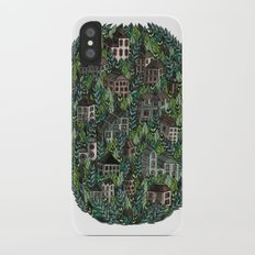 Little Forest Town iPhone X Slim Case