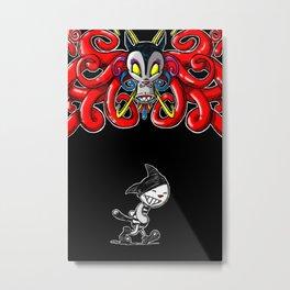 Paws ( polpo ) Metal Print