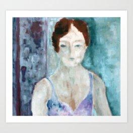 Woman Art Print
