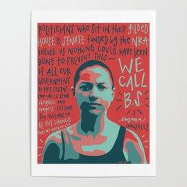 Emma Gonzalez. Poster