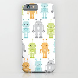 Robots iPhone Case