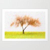 tree of life Art Prints featuring Life Tree by Joao Bizarro