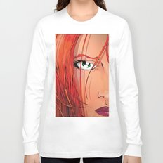 Red Face Long Sleeve T-shirt