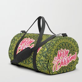 Merry Christmas Lace Duffle Bag