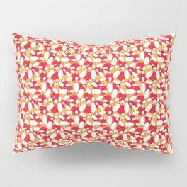 Bowling Alley Balls and Pins Pattern Pillow Sham