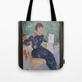 Edvard Munch - Elsa Glaser Tote Bag