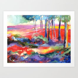 Enchanted Forest II Art Print