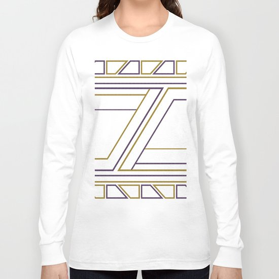 Geometry on white (abstract) Long Sleeve T-shirt