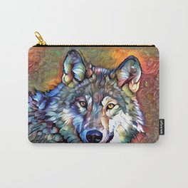 Aura of the Wolf Carry-All Pouch