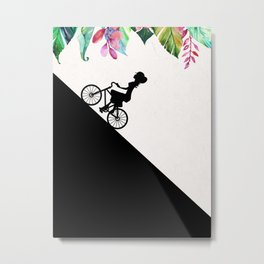 ride my bike Metal Print