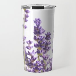 Purple Lavender #1 #decor #art #society6 Travel Mug