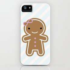 Cookie Cute Gingerbread Girl iPhone (5, 5s) Slim Case