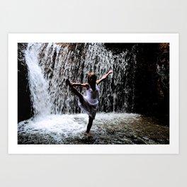 Dancer In The Dark Art Print